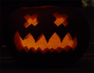 The defendant: the pumpkin in question