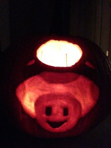 captain toad pumpkin